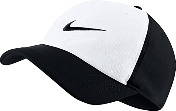 eb09473ea97 Image Unavailable. Image not available for. Color  Nike Aerobill H86  Dri-Fit Adjustable Hat Cap Black White