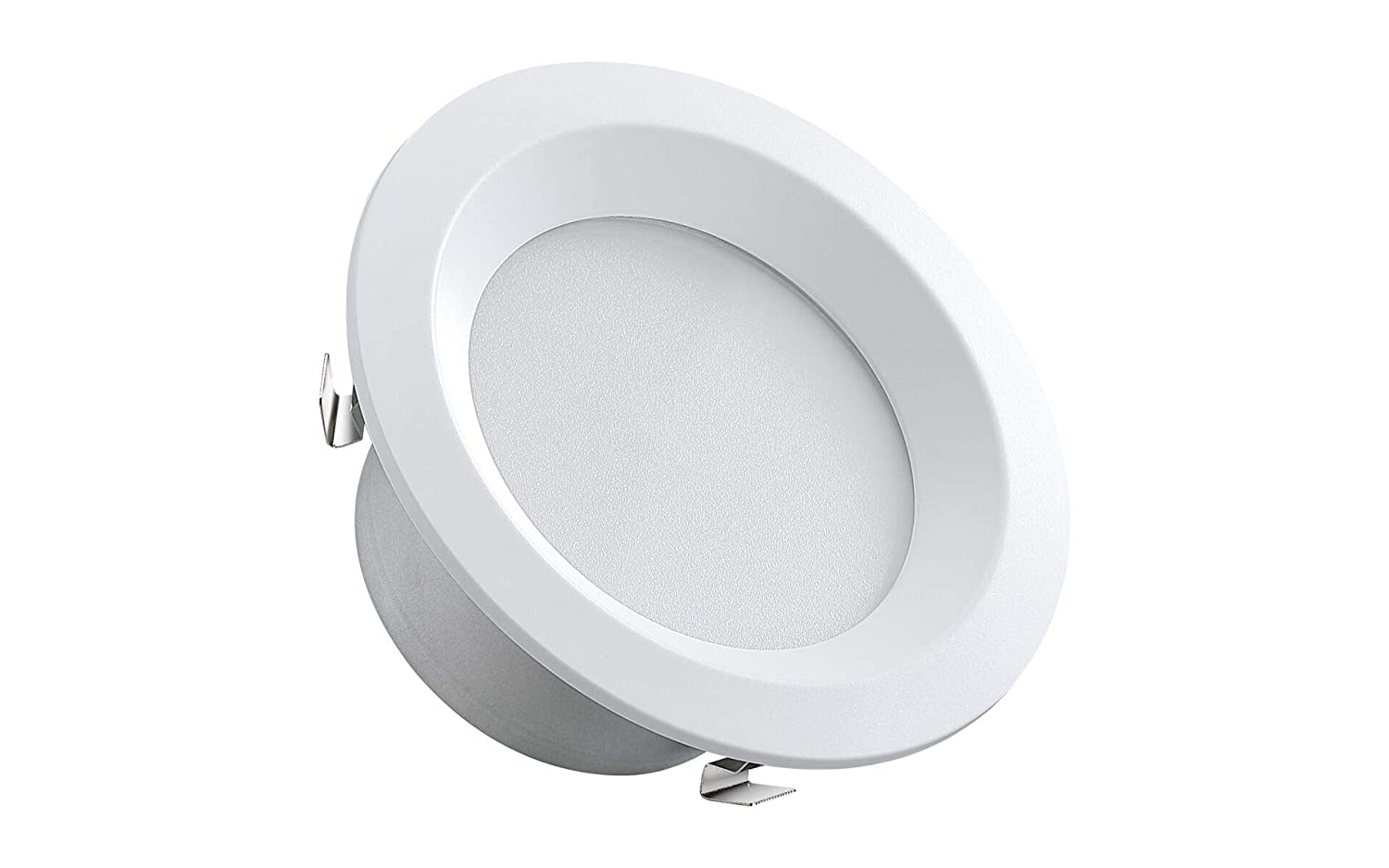3000K 80 CRI 12W Energy Star and UL Recognized 750 Lumens Dimmable 16-Pack Bakersmith LED Recessed Retrofit Downlights 6 inch 75W Replacement 5 inch Compatible Soft White ,