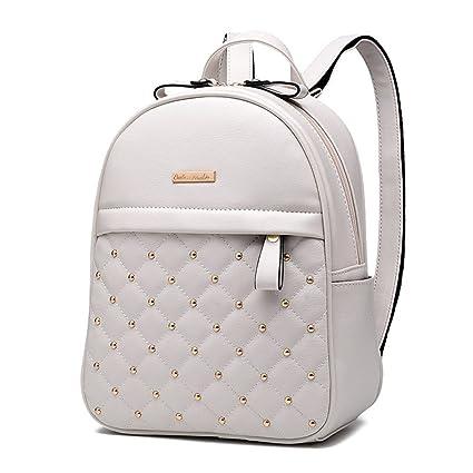 d2ac0e9fd4 RFVBNM Zaino per le donne Moda Causali borse Alta qualità bead borsa a  tracolla femminile PU