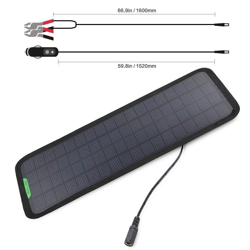 Amazon.com: FOMEIL 18V 7.5W Panel solar portátil, cargador ...