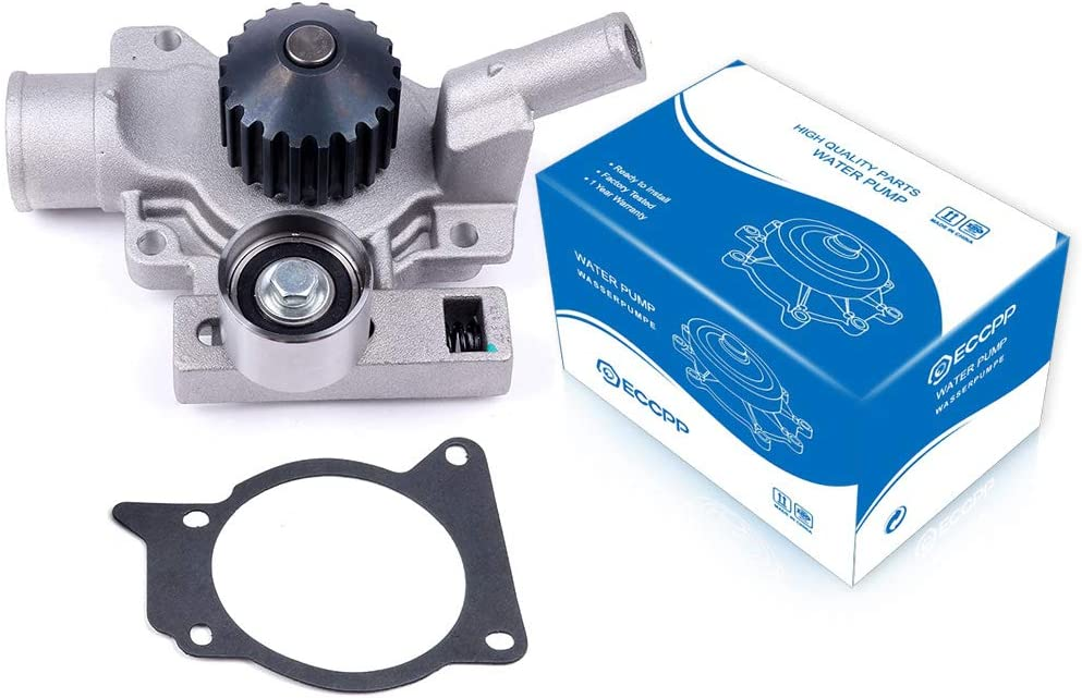 ECCPP Water Pump with Gasket fits for 1991-1996 ford Escort Mercury Tracer 1.9L GWF-72A AW4069 125-1720 F1720 AW4069 125-1720 F1720