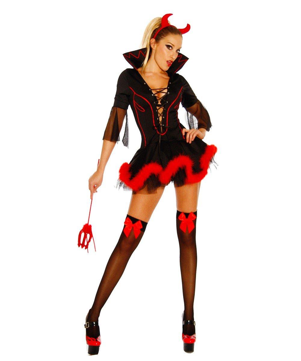 Teufels Kostum Schwarz Rot 2xl 3xl Amazon De Drogerie