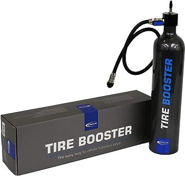 Schwalbe - Bomba para inflar neumáticos Tire Booster para adultos, color negro, tamaño único