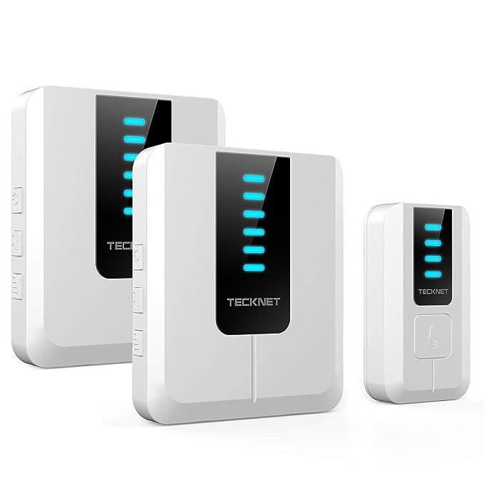 150 opinioni per TeckNet Campanelli Senza Fili Impermeabile, Wireless Doorbell Esterno,