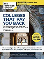 Colleges That Pay You Back, 2016 Edition Front Cover