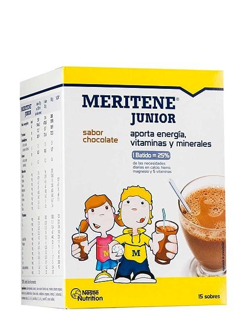 MERITENE JUNIOR 30 G 15 U CHOCOLATE