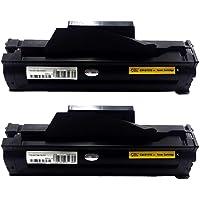 Kit 2 Toner Compatível Samsung Mlt-d111 D111 Mlt-d111s D111s M2020 M2020fw M2020w M2070 M2070w