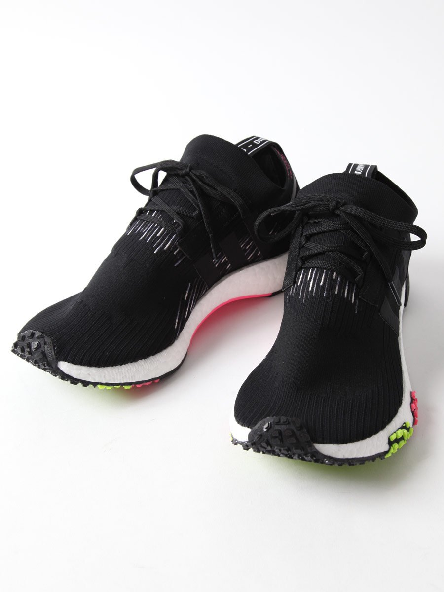 (アディダス) adidas NMD レーサー プライム ニット スニーカーNMD RACER PK B07BYK64FB 10.5 ブラック