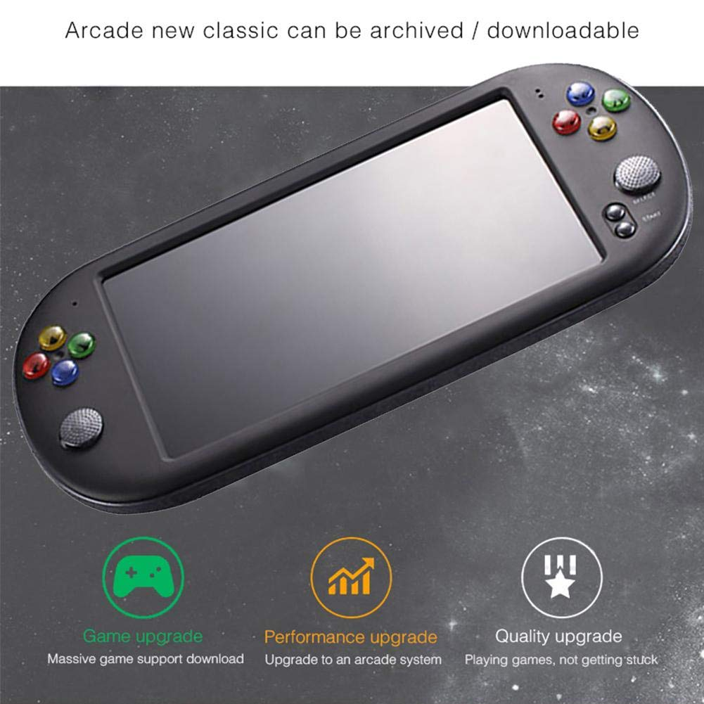 Handheld Game Console for Kids Adults, Large Screen HD Handheld GBA Arcade Game NES Nostalgic FC Handheld Game Console by decwang (Image #5)