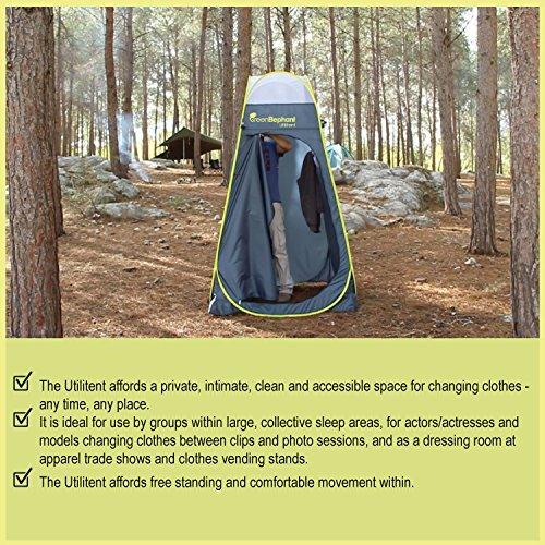 Green Elephant Utilitent Privacy Pop Up Tent ... & Green Elephant Utilitent Privacy Pop Up Tent u2013 Portable Camping ...