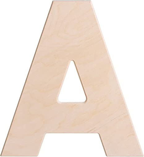 "Per lot of 4 Letters* WOODEN  LETTERS  FROM  A Z     6/""  Tall  x 1//4/"" Thick"