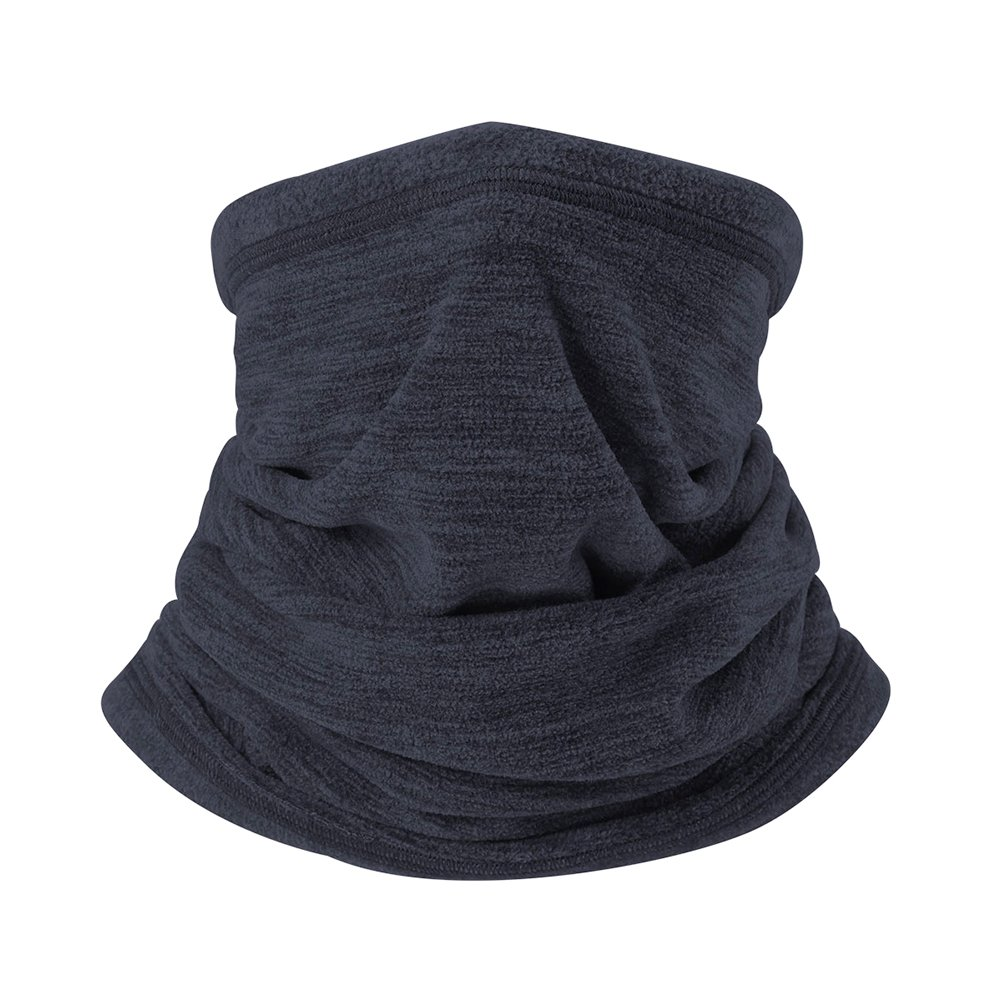 Soft Fleece Scarf Collar Neck Gaiter Warmer Windproof Coldproof Face Mask for Winter Outdoor Sports - Sapphire Shantan