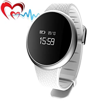 Fitness Tracker, joyfan Bluetooth 4.0 Heart Rate Monitor ...
