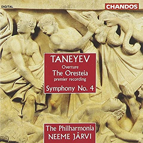 Taneyev: Overture The Oresteia, Symphony 4 by Philharmonia Orchestra (1992-05-01) (Taneyev Symphony 4)