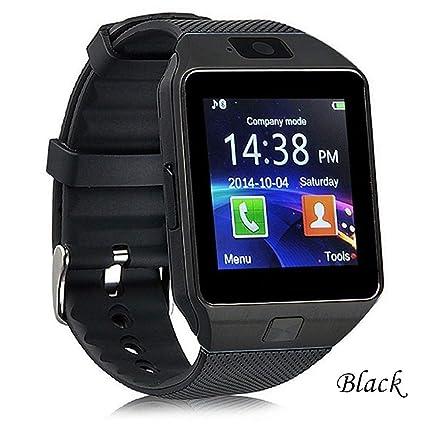 AUOKP Reloj Inteligente Bluetooth Smartwatch Android TF Sim Camera ...