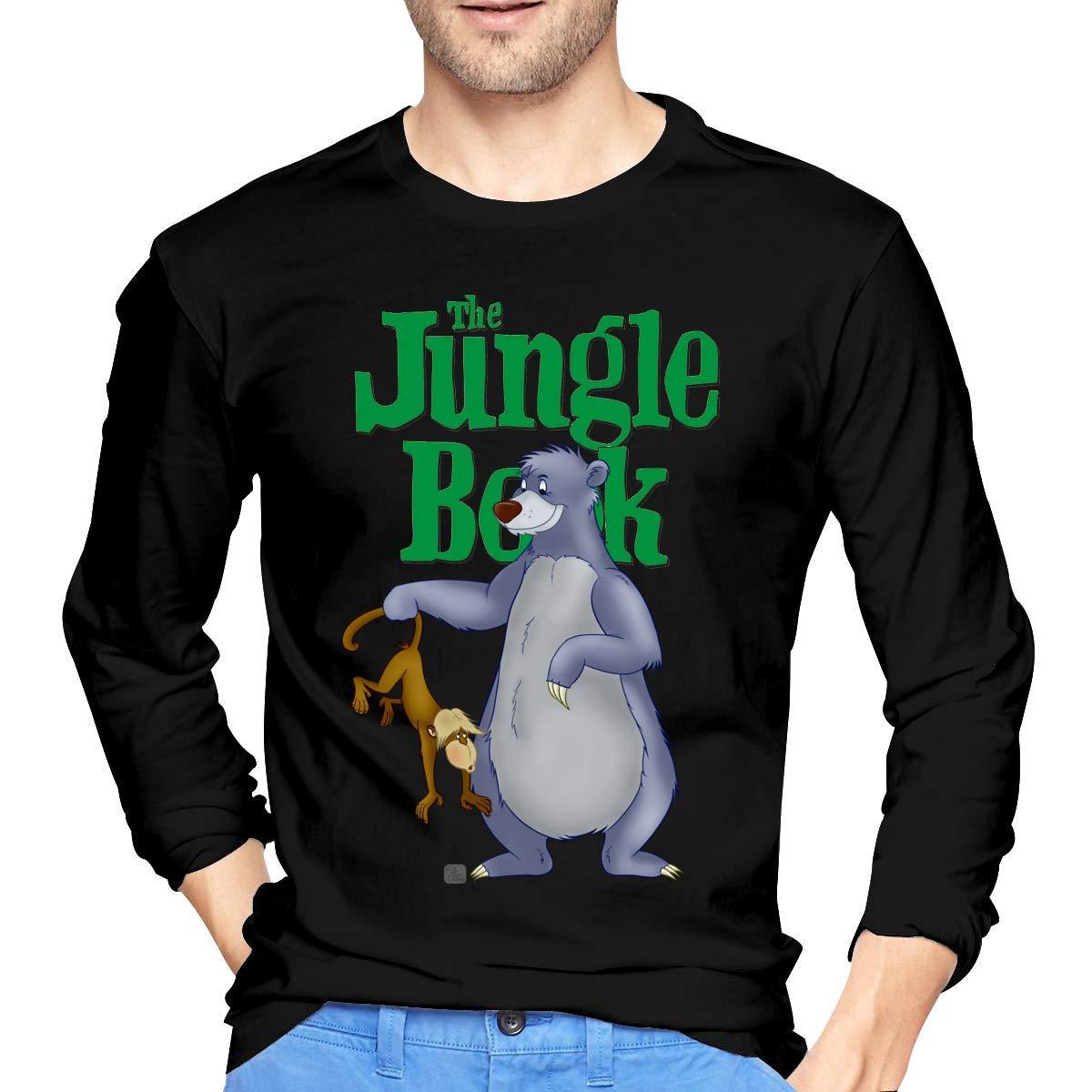 Fssatung S The Jungle Book Bear Baloo Tshirts Black