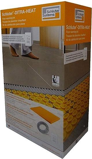 Schluter Ditra Heat Kit Dhekrtw12040 With Wifi Touchscreen Thermostat Amazon Com