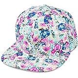 aba62d036dcd1e Sense42 | Snapback Cap im Blumen Design | Unisex, für Damen und Herren | One