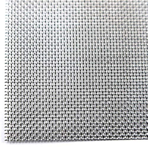 Easipet Stainless Steel Woven Wire Mesh Metal Silk Mesh Count 400 4