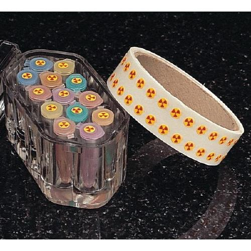 Bel-Art F13359-0000 Science Ware Radioactive Indicator Dot, 6.35mm Diameter (Pack of 12000)