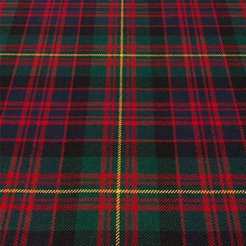 Light Weight 10oz Fabric Material Carnegie Modern Tartan 1 Metre