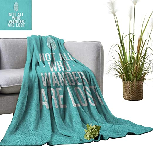 Amazon.com: Superlucky Adventure Throw Blanket Lets Find a ...