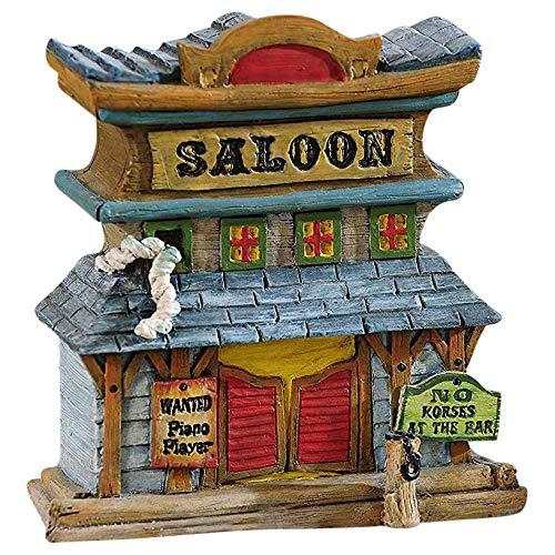 Wild West Fairy Garden Saloon Building Figurine