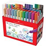 Caneta Ponta Fina, Faber-Castell, Fine Pen Colors, 48 Cores