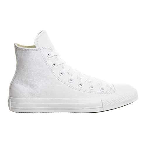 a1877b12155e top quality white converse mens 626dc 8beec  50% off converse chuck taylor  all star leather high top sneaker ef133 3f559