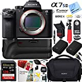 Sony a7S II 12.2MP Full-frame Mirrorless Interchangeable Lens Camera Body + 64GB Battery Grip Dual Battery Pro Video Bundle (Battery Grip Pro Video Bundle)