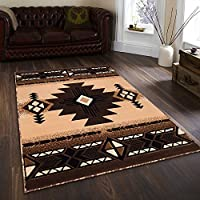 Champion Rugs Southwest Native American Indian Berber Carpet Area Rug (3 Feet 10 Inch X 5 Feet 1 Inch)