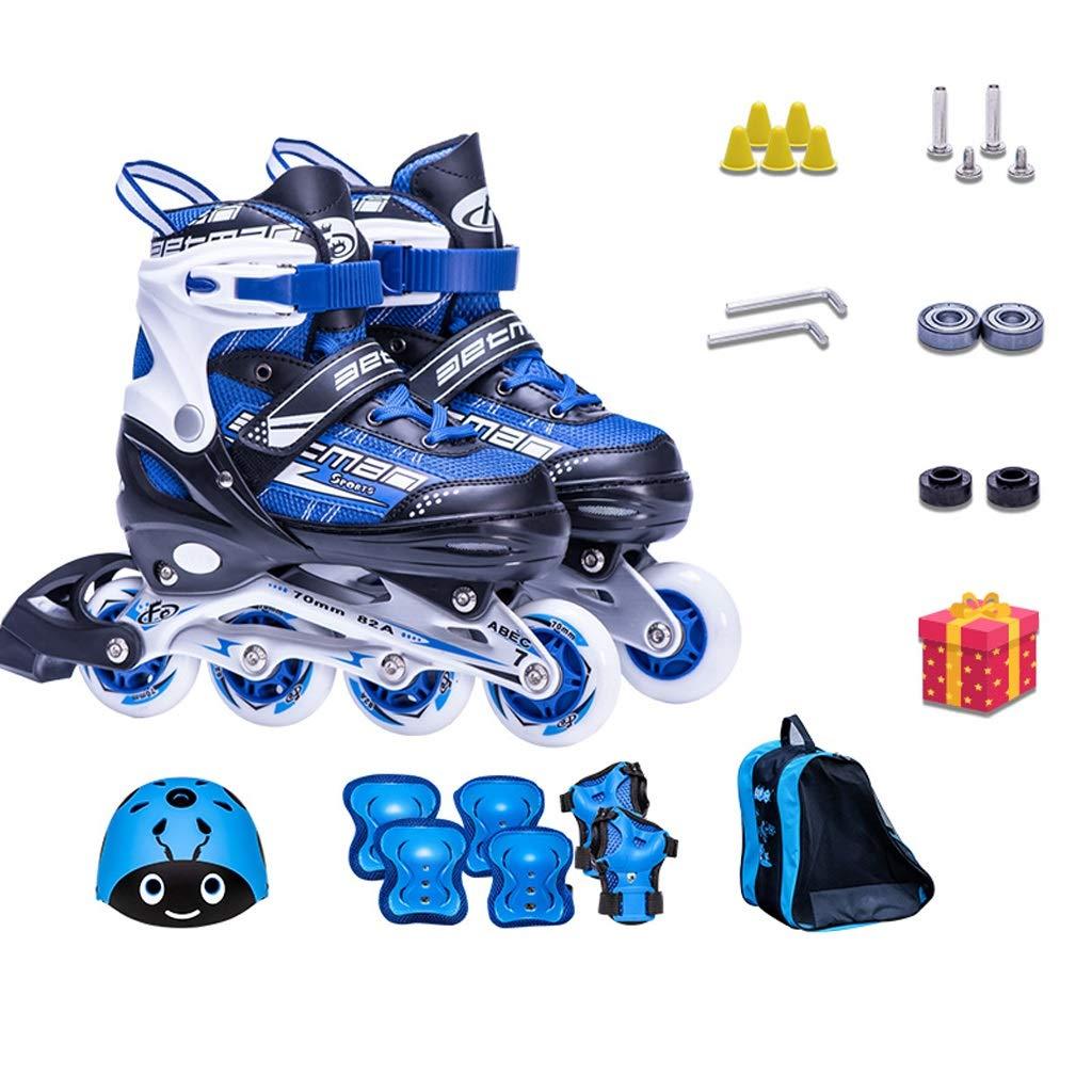 スケートの子供のプロのインラインスケート、調節可能なローラースケートのローラースケート、大人の屋外の初心者のローラースケート (Color : C, Size : L(37-40)) C L(37-40)