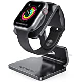 Lamicall Stand Suit for Apple Watch, Charging Stand : Desk Watch Stand Holder Charging Dock Station Compatible with Apple Wat