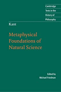 Kants Construction of Nature: A Reading of the Metaphysical Foundations of Natural Science