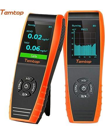 Temtop LKC-1000S + Detector de Alta Precisión de Calidad del Aire,AQI Sensor
