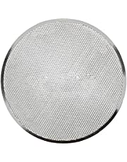 Moligh doll Professional Round Pizza Oven Baking Tray Barbecue Grate Nonstick Mesh Net(14 Inch)