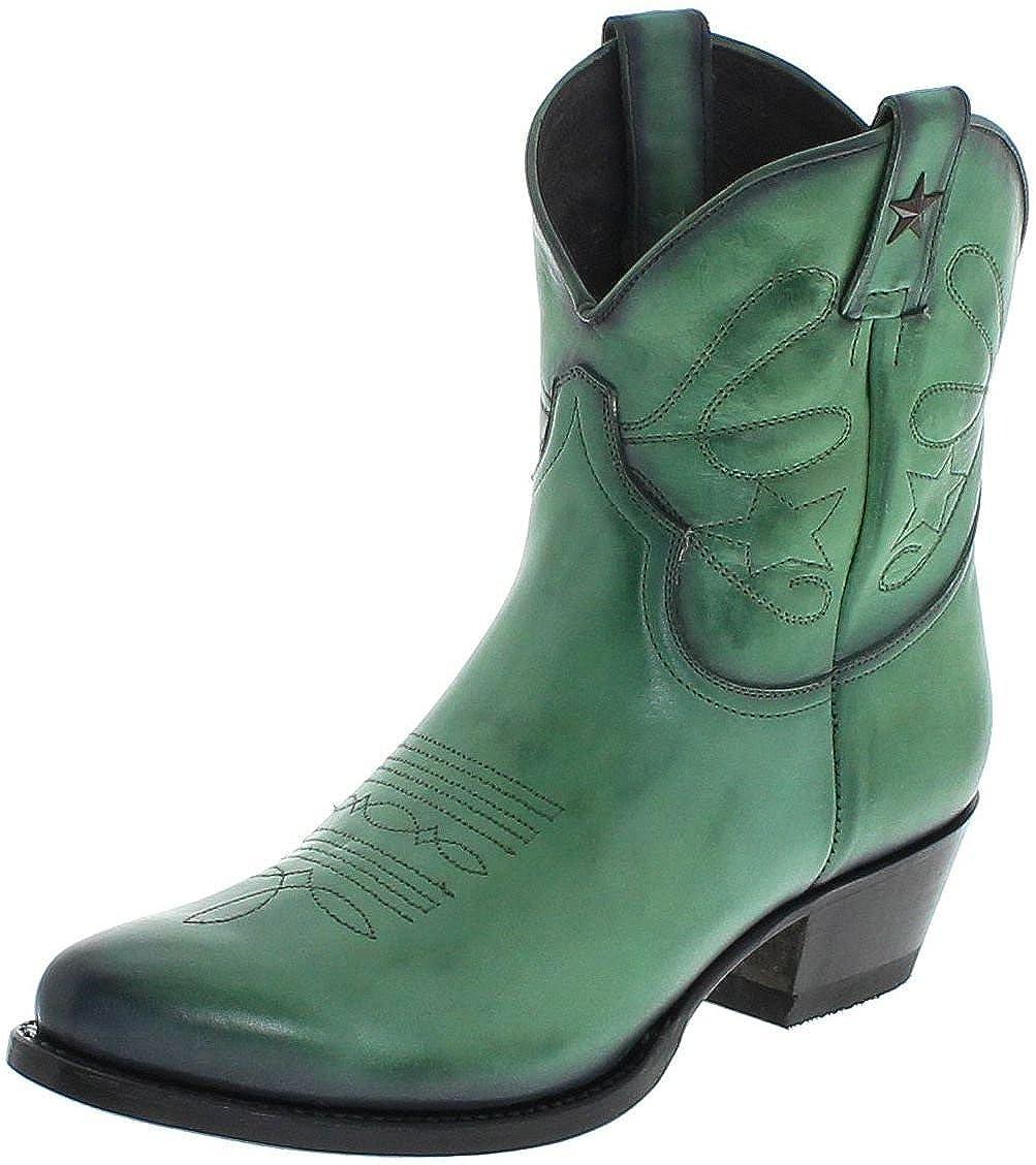 Mayura Stiefel Damen Cowboy Stiefel 2374 Grün Lederstiefelette Lederstiefelette Lederstiefelette Grün 70b640