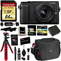 Panasonic LUMIX GX85 4K Mirrorless Interchangeable Lens Camera Kit With 12-32mm Lens, Polaroid Filter, Transcend 64 GB, Memory Card Wallet, Spare Battery, Ritz Gear Cleaning Kit & Accessory Bundle Explained Review Image