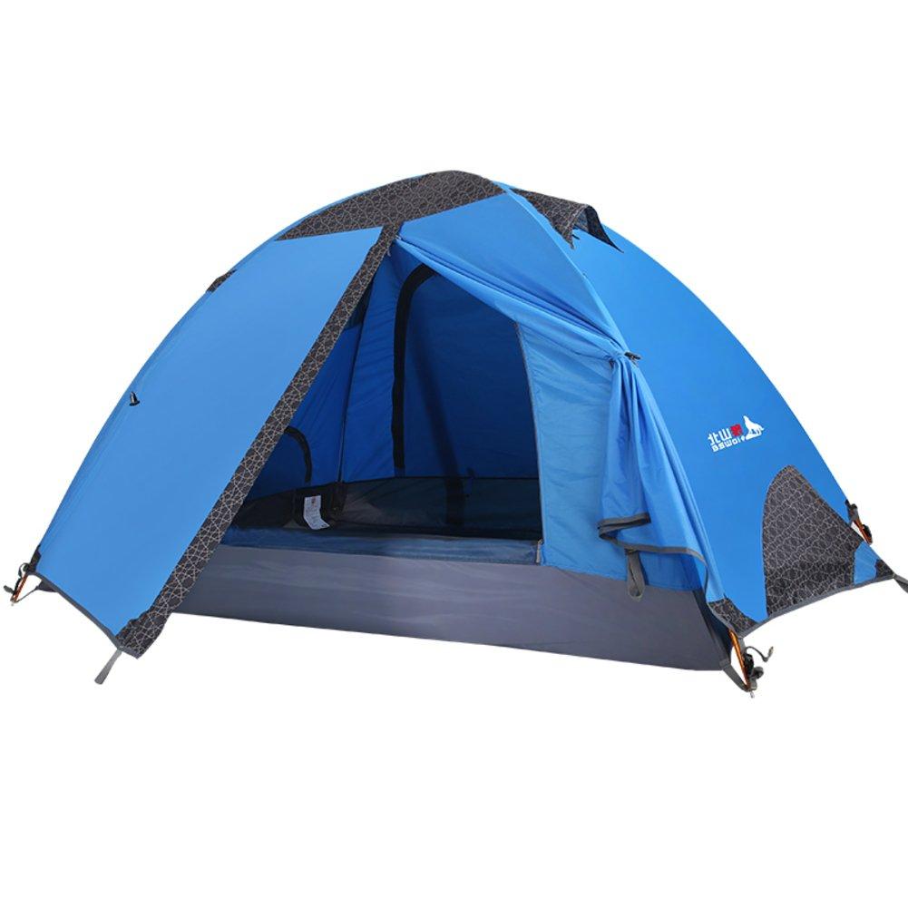 Outdoor-camping-Zelt für zwei Personen Zelt Reisende Paare Sturmsichere Zelt im Feld