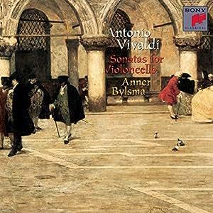 Antonio Vivaldi: Sonatas for Violoncello & Basso Continuo - Anner Bylsma