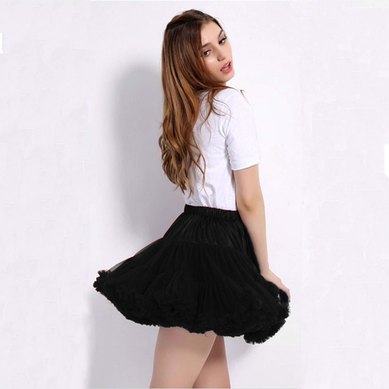Bettli Girlss Short Vintage Short Tulle Petticoat Skirts Tutu Ballet Bubble Tutu Underskirt