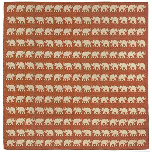 Liora Manne Square Veranda Tuskers Walk Rug, Indoor/Outdoor, 7'10