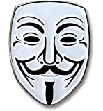 """Guy Fawkes """"Anonymous"""" Lapel Pin"""