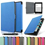 HAOCOO Ultra Slim Leather Smart Case Cover Build in Magnetic [Auto Sleep/Wake] Function for All-New Amazon Kindle Paperwhite ( All-New 300 PPI Versions with 6