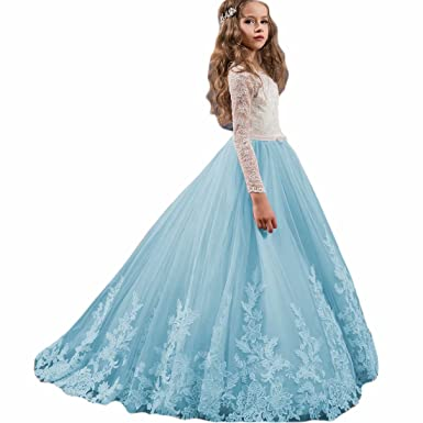 292726d20 Amazon.com  Angel Dress Shop A Line Princess Ball Gown First ...