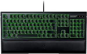 RAZER ORNATA EXPERT: Mecha-Membrane - Individually Backlit Mid-Height Keys - Leatherette Wrist Rest - Gaming Keyboard - Gaming Keyboard (RZ03-02041800-R3U1)