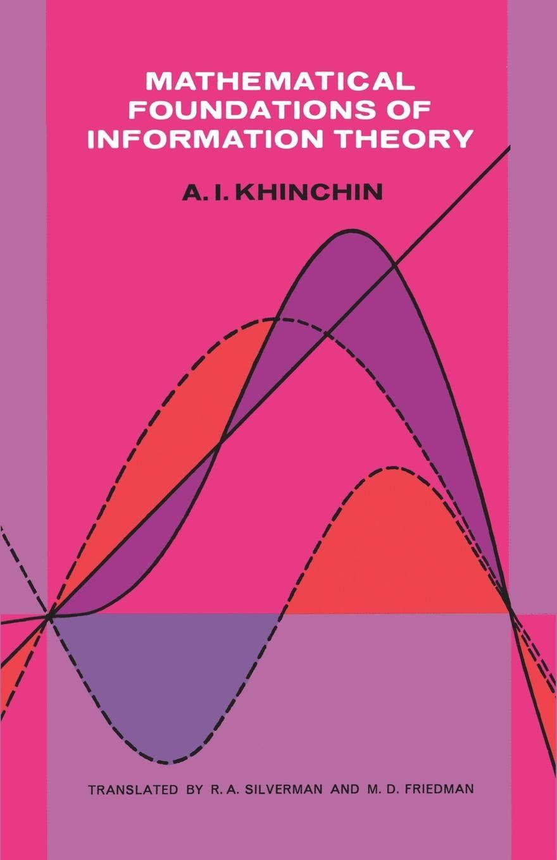 Of pdf mathematical foundations khinchin information theory