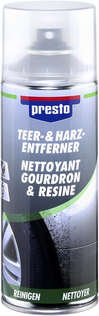 Presto 306215 Teer Und Harz Entferner Spray 400 Ml Auto