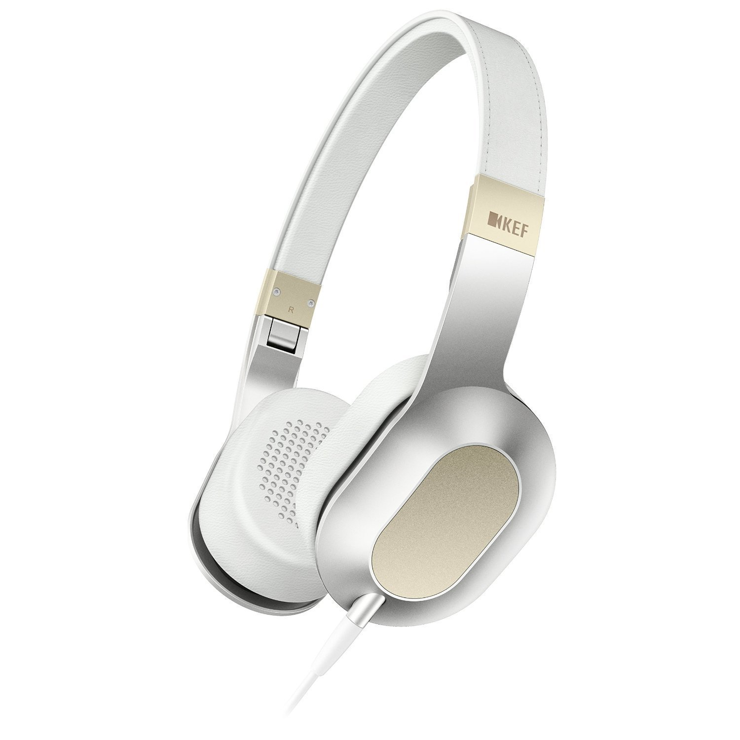 dce4661a6b5 Amazon.com: KEF M400 Hi-Fi On-Ear Headphones - Champagne White: Home Audio  & Theater