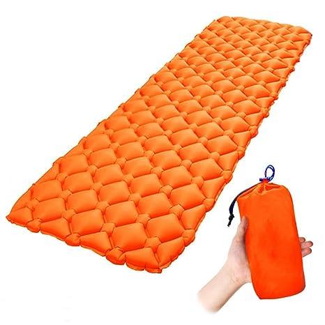 Al Aire Libre Ultraligero 20D Nylon TPU Colchonetas De Dormir Inflable Para Ir De Excursión Mochilero
